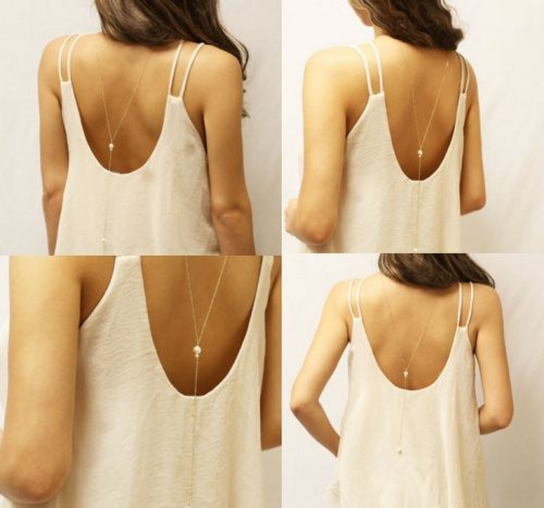 Pearl Back Chain